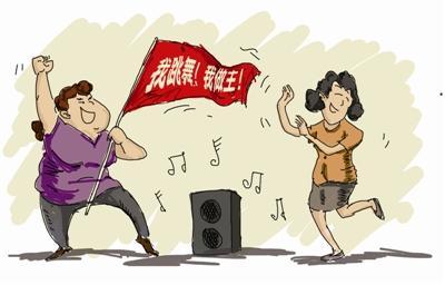 扰像周�_钦州:大喇叭跳广场舞 居民不胜其扰
