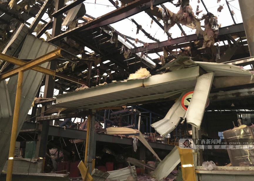 玉林陆川爆炸事故已致4死7伤 其中3人伤势较重