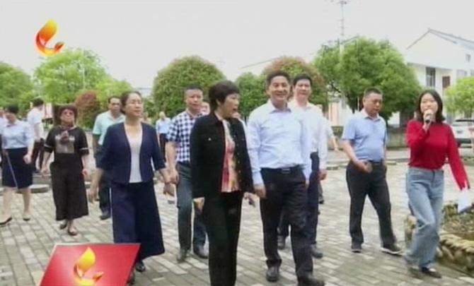 李新元率我市党政考察团到江西省上饶市考察