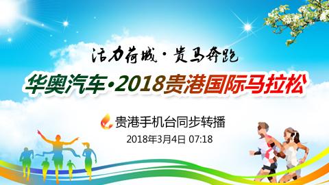 华奥汽车・2018贵港国际马拉松