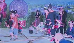 马练:传承发展民族文化 特色瑶寨引客来