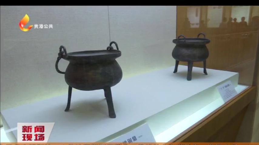 贵城遗址考古成果图片展在市博物馆展出